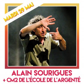 ALAIN SOURIGUES carré insta