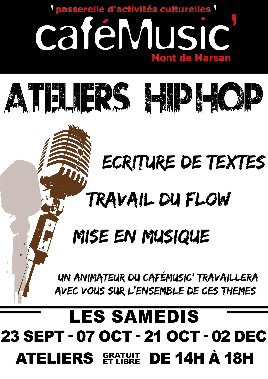 Affichette - Atelier HIPHOPweb