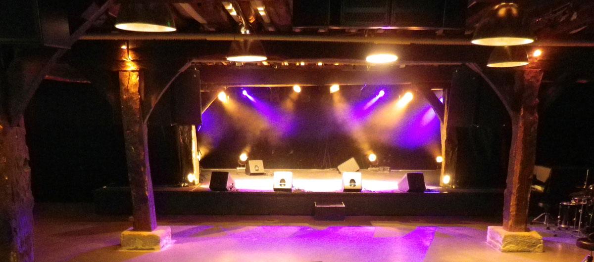 Salle de concert du caféMusic'